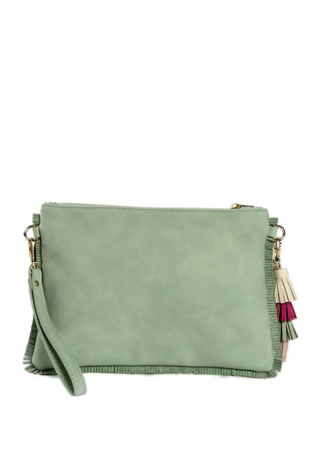Pochette sophie verde PASH BAG | Borse mini | 10852SOPHIE-CELESTE