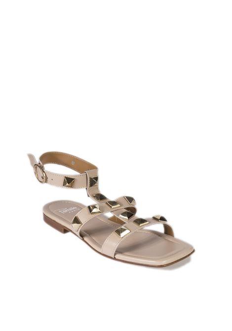 Sandalo borchie cipria PERNILL PARIS | Sandali flats | H51NAPPA-CONTOUR