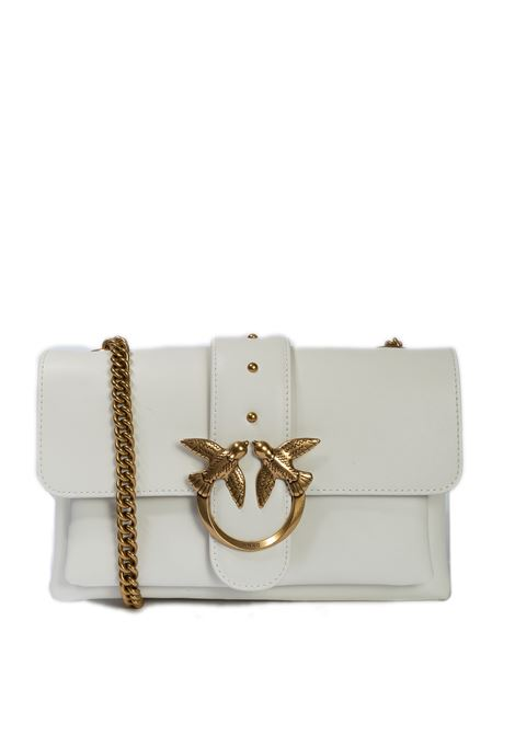 Borsa mini soft simply bianco PINKO | Borse a spalla | 2288MINI SOFT SIMPLY-Z14