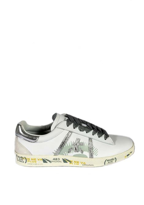 Sneaker andy bianco/verde PREMIATA | Sneakers | ANDYPELLE-4678