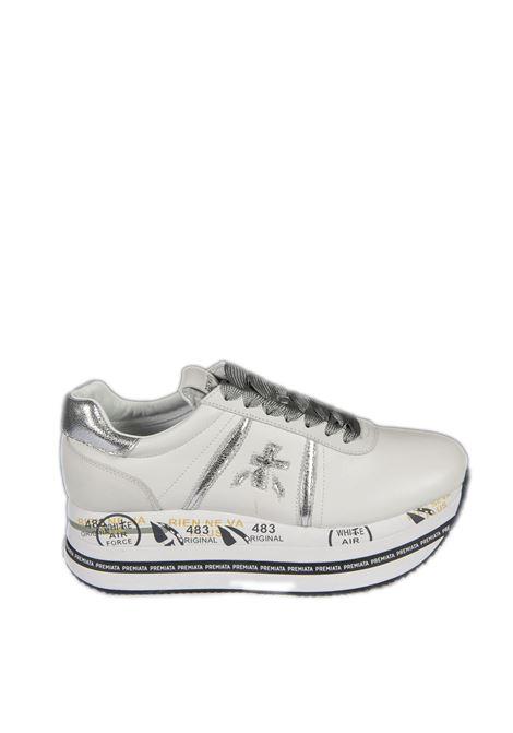 Sneaker beth nylon bianco PREMIATA | Sneakers | BETHNYLON-4517