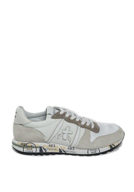 Sneaker eric bianco/beige PREMIATA | Sneakers | ERICCAM/NYL-5174