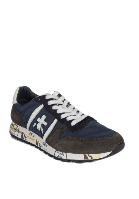 Sneaker eric blu/marrone PREMIATA | Sneakers | ERICPELLE/CAM-5175