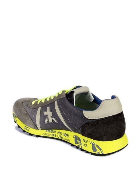 Sneaker lucy grigio/giallo PREMIATA | Sneakers | LUCYCAM/NYL-1313