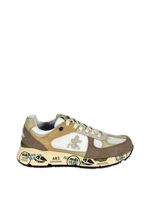 Sneaker mase beige/bianco PREMIATA | Sneakers | MASECAM/NYL-4552