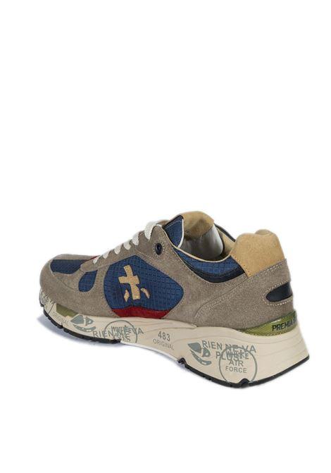 Sneaker mase blu/beige PREMIATA | Sneakers | MASECAM/NYL-5169