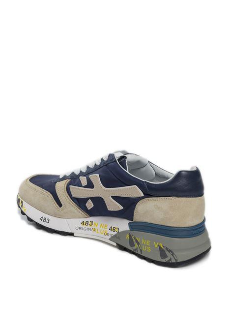 Sneaker mick blu/beige PREMIATA | Sneakers | MICKCAM/NYL-5187