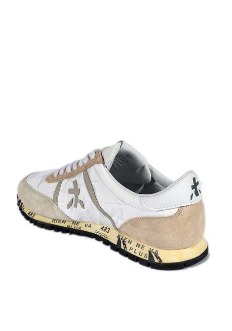 Sneaker sean bianco/beige PREMIATA | Sneakers | SEANCAM/NYL-5110