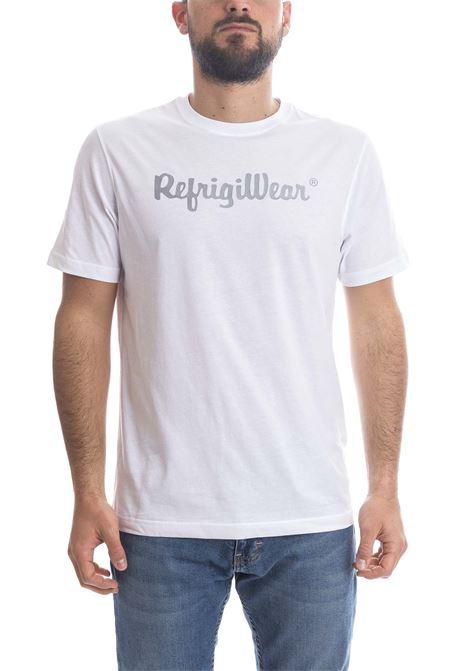 T-shirt davis bianco REFRIGIWEAR | T-shirt | 22101DAVIS/1-010