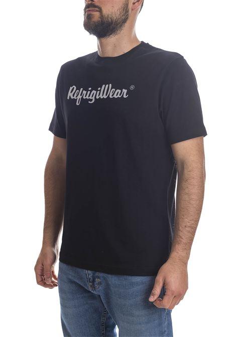 T-shirt davis nero REFRIGIWEAR | T-shirt | 22101DAVIS/1-6000