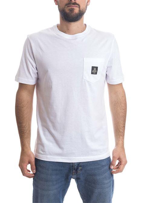 T-shirt pierce bianco REFRIGIWEAR | T-shirt | 22600PIERCE-010