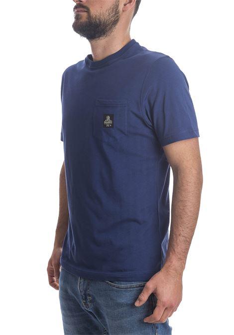 T-shirt pierce blu REFRIGIWEAR | T-shirt | 22600PIERCE-2970