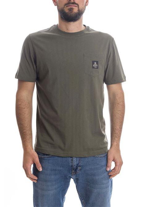 T-shirt pierce verde REFRIGIWEAR | T-shirt | 22600PIERCE-3121
