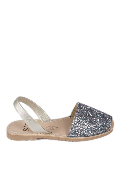 Sandalo flat glitter metal RIA MENORCA | Sandali flats | 21224GLITTER-C/39