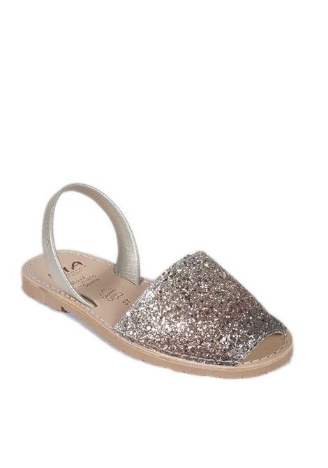 Sandalo flat glitter mutli RIA MENORCA | Sandali flats | 27224GLITTER-C/19