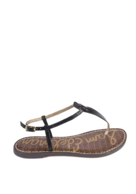 Sandalo gigi nero SAM EDELMAN | Sandali flats | GIGI494054000-BLACK