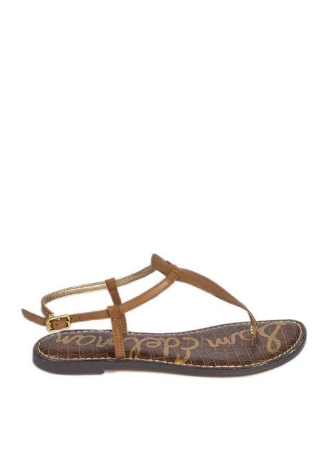 Sandalo gigi cuoio SAM EDELMAN | Sandali flats | GIGI4940LI200-SADDLE
