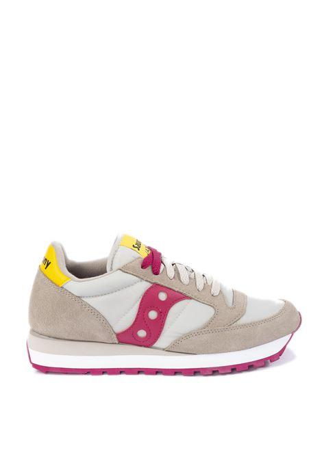 Sneaker jazz bianco/rosa SAUCONY | Sneakers | 1044JAZZ-606
