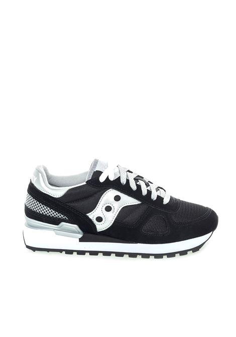 Sneaker jazz nero/argento SAUCONY | Sneakers | 1108SHADOW-671