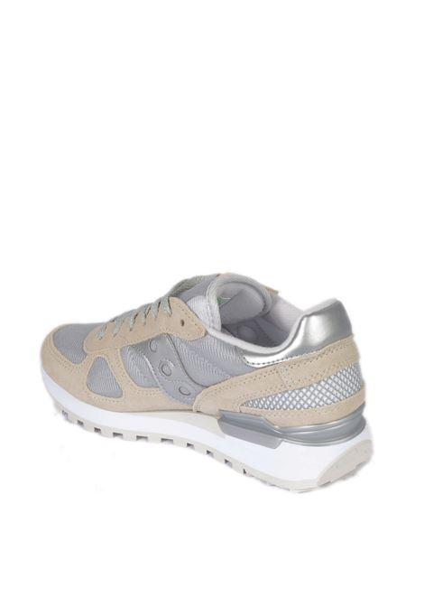 Sneaker shadow bianco/grigio SAUCONY | Sneakers | 1108SHADOW-778