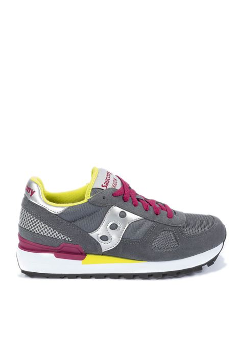 Sneaker shadow grigio/argento SAUCONY | Sneakers | 1108SHADOW-779