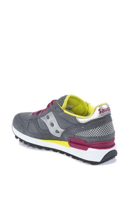 Sneaker shadow grigio/argento SAUCONY | Sneakers | 1108SHADOW-779