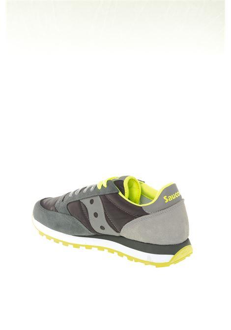 Sneaker jazz grigio/lime SAUCONY | Sneakers | 2044UJAZZ-580