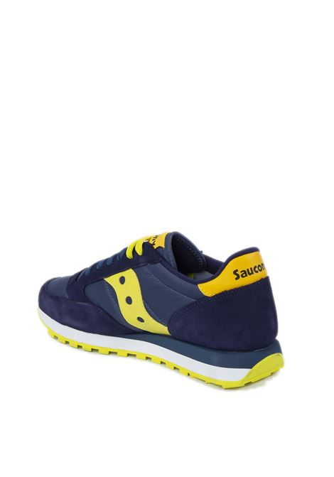 Sneaker jazz blu/lime SAUCONY | Sneakers | 2044UJAZZ-604