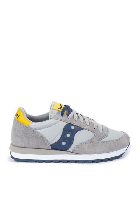 Sneaker jazz grigio/blu SAUCONY | Sneakers | 2044UJAZZ-605