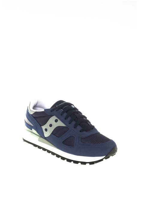 Sneaker shadow navy/grigio SAUCONY | Sneakers | 2108SHADOW-523