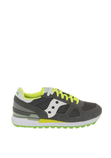 Sneaker shadow grigio/lime SAUCONY | Sneakers | 2108SHADOW-644