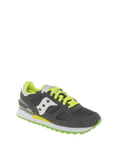 Sneaker shadow grigio/lime SAUCONY | Sneakers | 2108SHADOW-644