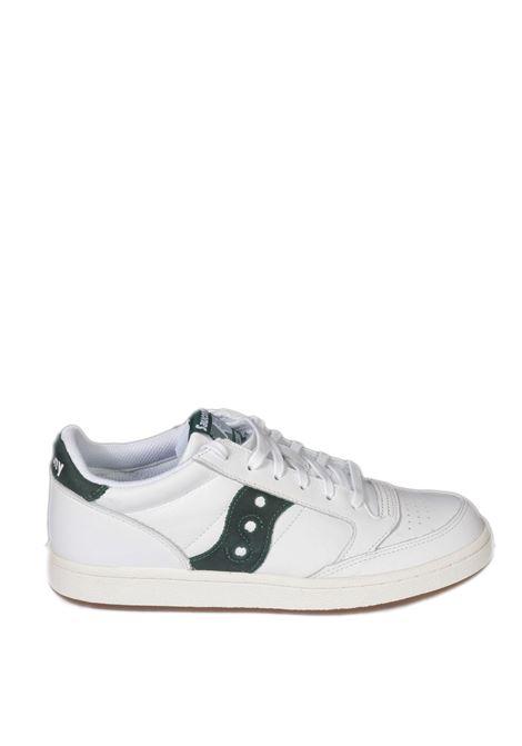 Sneaker jazz court bianco/verde SAUCONY | Sneakers | 70555JAZZ COURT-8