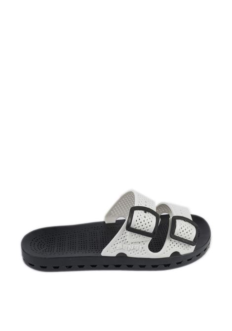 Sandalo jolla urban bianco SENSI | Sandali flats | 4150LA JOLLA URBAN-002