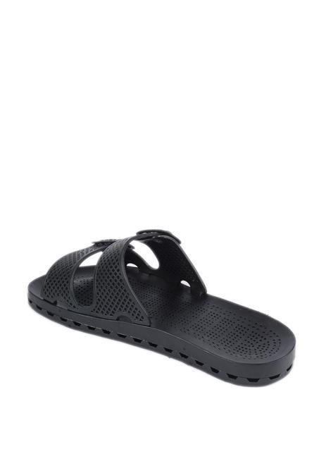 Sandalo jolla urban nero SENSI | Sandali flats | 4150ULA JOLLA URBAN-001