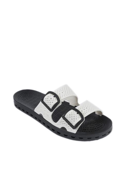 Sandalo jolla urban bianco SENSI | Sandali flats | 4150ULA JOLLA URBAN-002