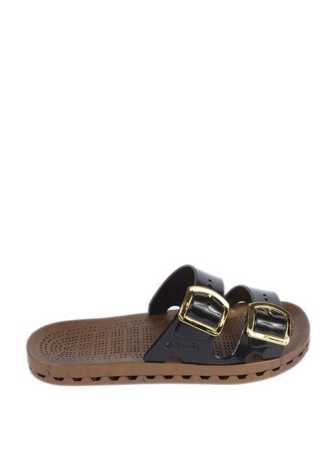 Sandalo jolla prestigio nero SENSI | Sandali flats | 4151DLA JOLLA PRESTIGIO-001