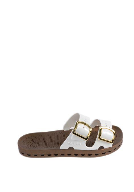 Sandalo jolla prestigio bianco SENSI | Sandali flats | 4151DLA JOLLA PRESTIGIO-002