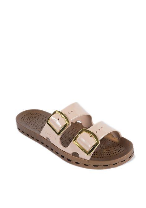 Sandalo jolla prestigio cipria SENSI | Sandali flats | 4151DLA JOLLA PRESTIGIO-334