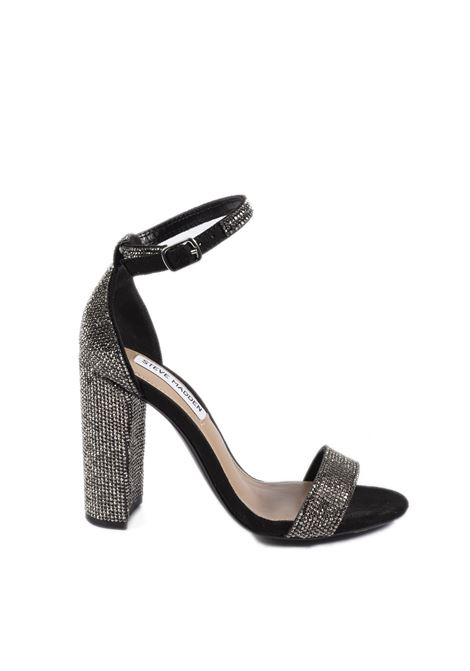 Sandalo Carrson Cystal nero tacco 100 STEVE MADDEN | Sandali | CARRSONCRYSTAL-BLACK