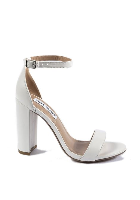 Sandalo Carrson pelle bianco STEVE MADDEN | Sandali | CARRSONLEATHER-WHT