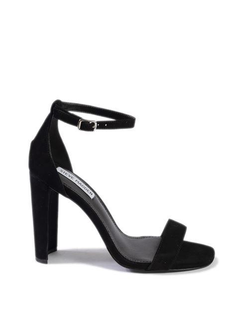 Sandalo franky camoscio nero STEVE MADDEN | Sandali | FRANKYSUEDE-BLACK
