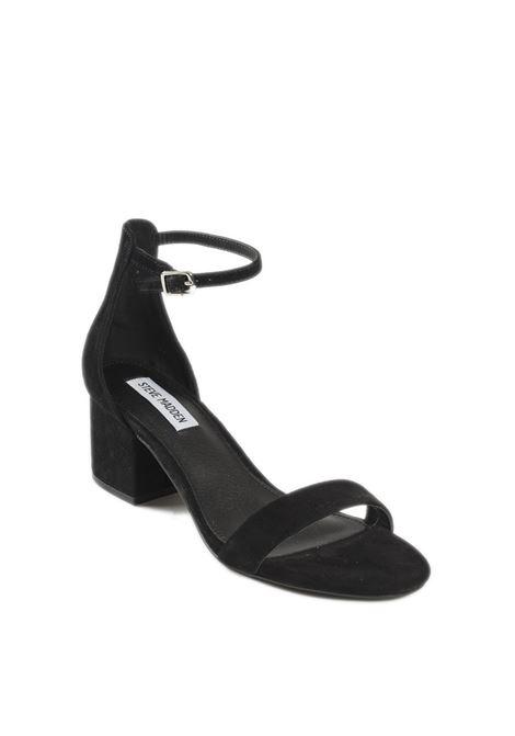 Sandalo irenee camoscio nero STEVE MADDEN | Sandali | IRENEESUEDE-BLACK