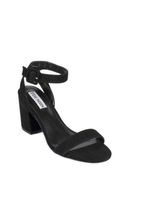 Sandalo malia camoscio nero STEVE MADDEN | Sandali | MALIASUEDE-BLACK