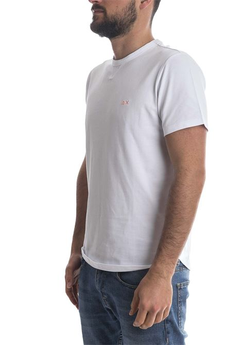 T-shirt sold bianco SUN 68 | T-shirt | T31114SOLID-BIANCO