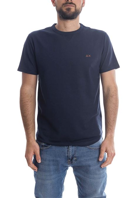 T-shirt sold blu SUN 68 | T-shirt | T31114SOLID-NAVY
