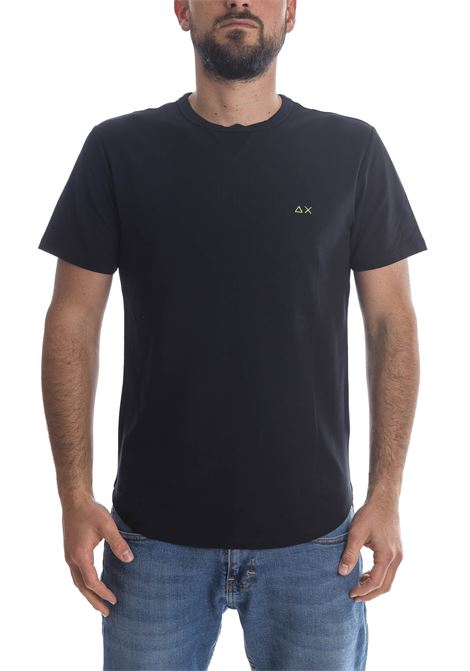 T-shirt solid nero SUN 68 | T-shirt | T31114SOLID-NERO