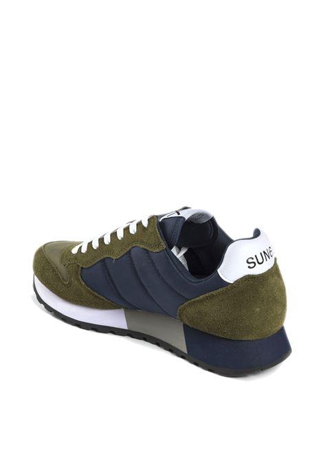Sneaker jaki bicolor militare SUN 68 | Sneakers | Z31111JAKI BICOLOR-MILITARE