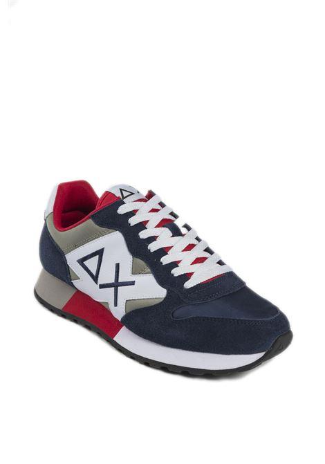 Sneaker jaki bicolor blu SUN 68 | Sneakers | Z31111JAKI BICOLOR-NAVY