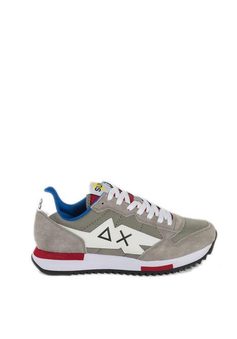 Sneaker niki solid grigio SUN 68 | Sneakers | Z31118NIKI SOLID-GRIGIO